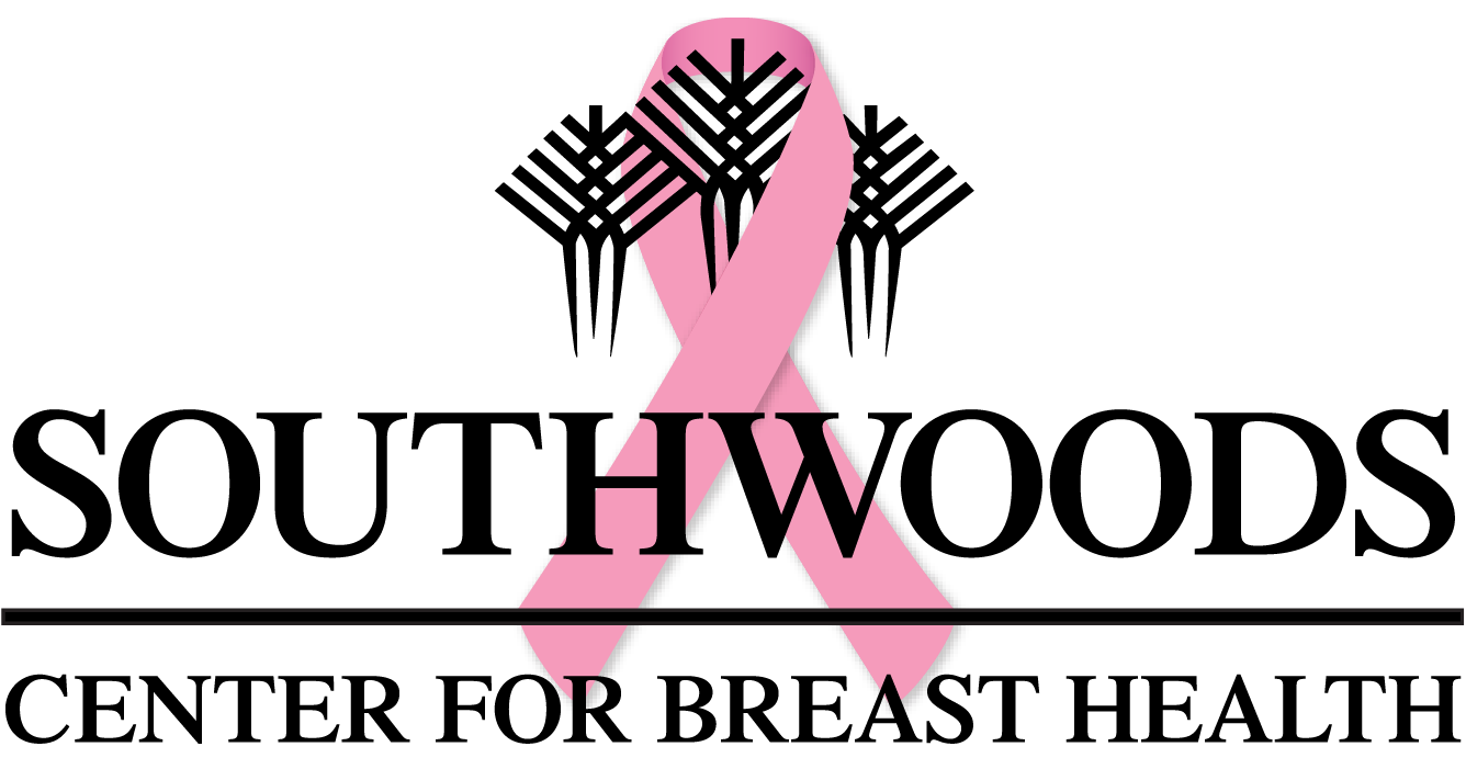 Southwoods Center for Breast Health pink ribbon logo